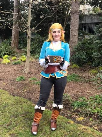 Zelda (Legend of Zelda: Breath of the Wild)  by Starrys