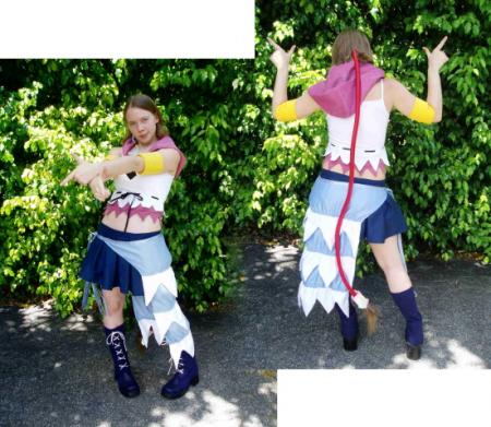 Yuna from Kingdom Hearts 2 worn by Dandelionswish