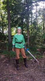 Link from Legend of Zelda worn by Elf Queen