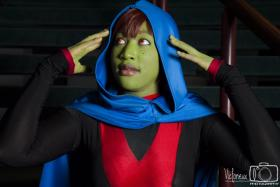 Miss Martian / M'gann M'orzz / Megan Morse from Young Justice worn by blackflame16