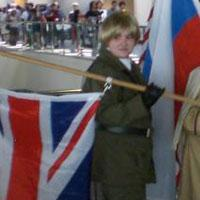 UK / England / Arthur Kirkland from Axis Powers Hetalia worn by thedoctorboy