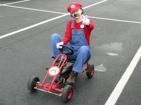 Mario from Mario Bros