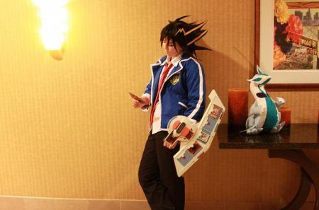 Yusei Fudo from Yu-Gi-Oh! 5Ds
