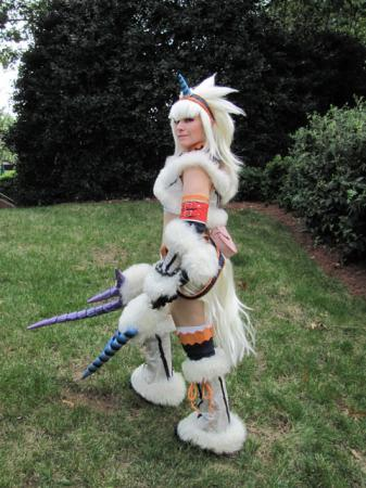 Kirin Armor from Monster Hunter worn by Bear