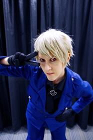 Prussia / Gilbert Weillschmidt from Axis Powers Hetalia worn by M Is For Murder