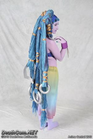Shiva from Final Fantasy X worn by TotallyToastyAri
