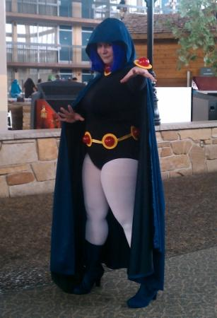 Raven from Teen Titans worn by Taru
