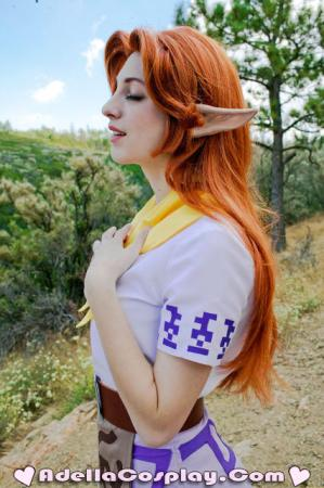 Malon from Legend of Zelda worn by Adella