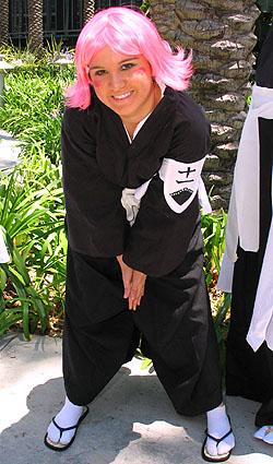 Yachiru Kusajishi from Bleach worn by Jabi