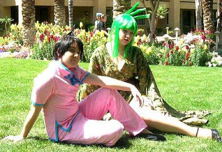 Ren Tao from Shaman King worn by Jabi