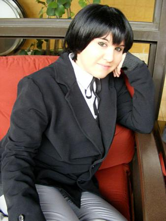 Miharu Rokujou from Nabari no Ō worn by Jabi