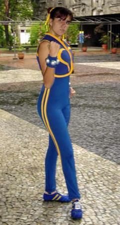 Chun Li from Street Fighter Alpha