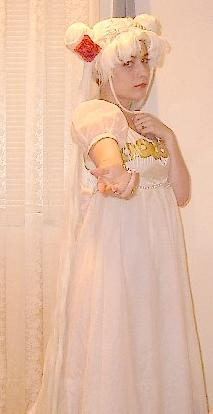 Princess Serenity from Sailor Moon worn by Usagi