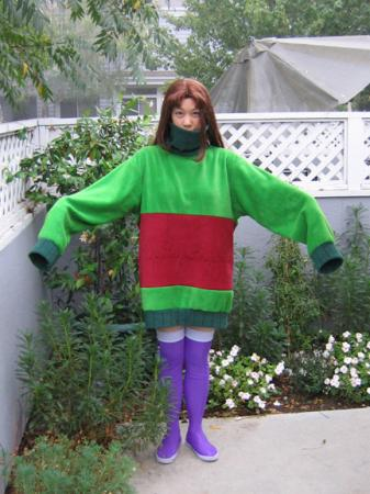 Starfire from Teen Titans worn by AJ