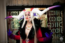 Ultimecia from Final Fantasy Dissidia worn by Kaolinite