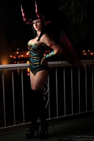 Succubus from World of Warcraft worn by Kaolinite