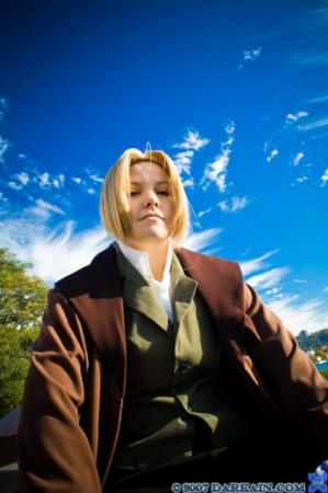 Edward Elric from Fullmetal Alchemist worn by Sumikins