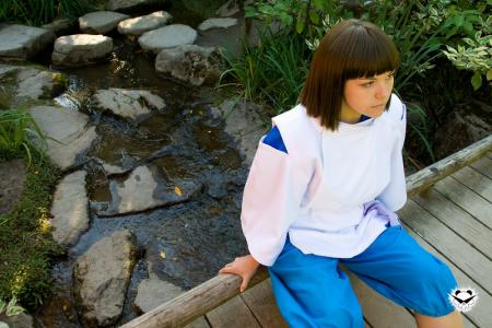 Haku from Spirited Away worn by Sumikins