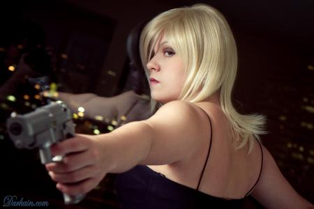 Aya Brea from Parasite Eve worn by Sumikins