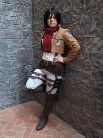Mikasa Ackerman from Attack on Titan worn by Sumikins