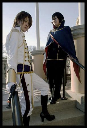 Suzaku Kururugi from Code Geass worn by Haruki