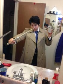 Castiel from Supernatural worn by Huntress