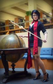 Fiora from League of Legends worn by Xing Cai