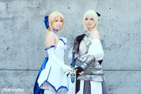 Saber Lily from Fate/Unlimited Codes worn by 小瑀 ~Yeu~