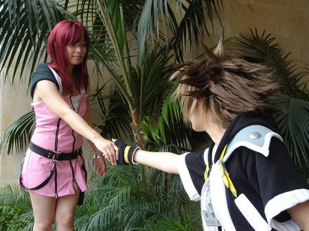 Kairi from Kingdom Hearts 2 worn by Kix