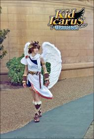 Pit from Kid Icarus: Uprising worn by Li Kovacs
