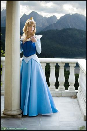 Princess Aurora from Sleeping Beauty worn by Li Kovacs