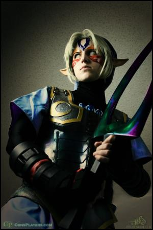 Link from Legend of Zelda: Majora's Mask worn by Li Kovacs