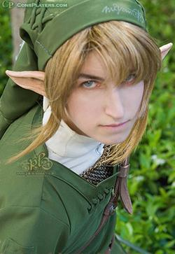 Link from Legend of Zelda: Twilight Princess worn by Li Kovacs