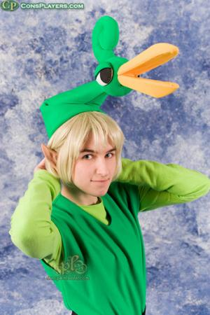 Link from Legend of Zelda: The Minish Cap worn by Li Kovacs