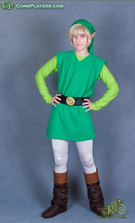 Link from Legend of Zelda: The Wind Waker worn by Li Kovacs