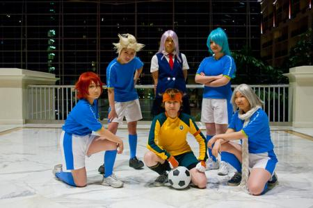 Fubuki Shirou from Inazuma Eleven worn by Rukazaya