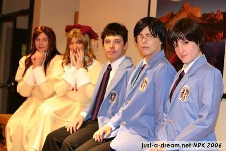 Haruhi Fujioka from Ouran High School Host Club worn by Beverly