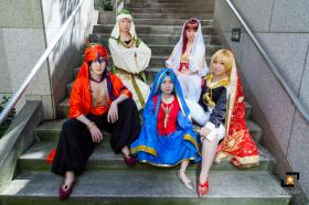 Aladdin from Magi Labyrinth of Magic worn by hakukumo