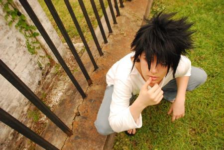 L / Ryuuzaki from Death Note worn by raNar