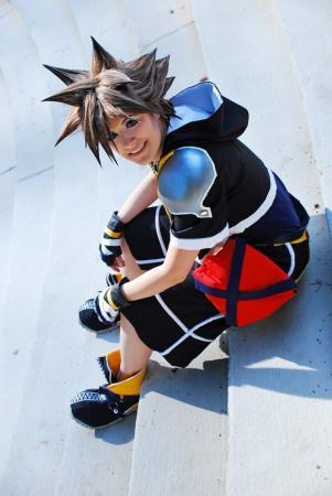 Sora from Kingdom Hearts 2 worn by raNar