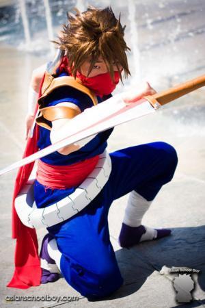 Strider Hiryu from Marvel vs Capcom 2