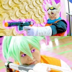 Fei Lune from Inazuma Eleven Go Chrono Stone