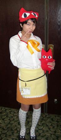 Waitress from Azumanga Daioh