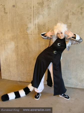 Byakko from Yami no Matsuei worn by Mehdia