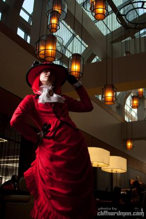 Madam Red from Black Butler worn by Mehdia