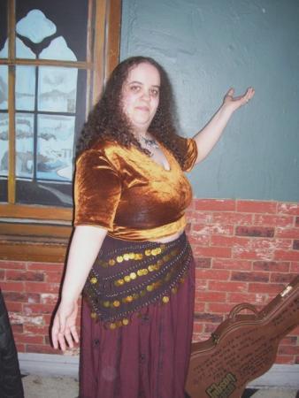 Dancer from Final Fantasy Tactics worn by Lady Rosebride
