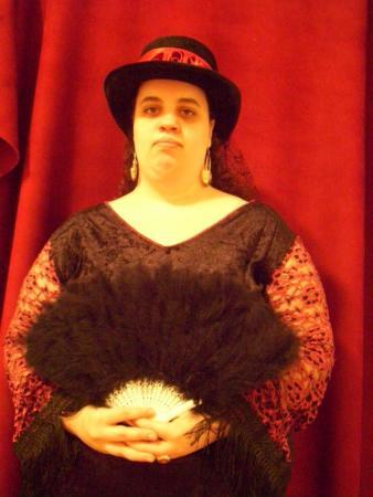 Victorian Vampire from Original:  Fantasy worn by Lady Rosebride