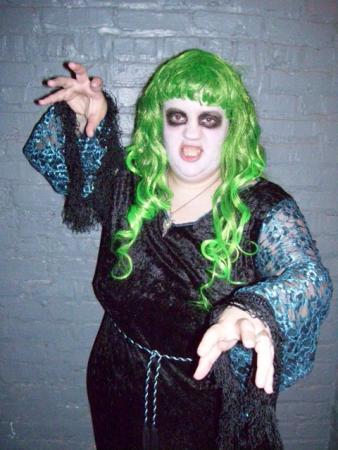 Green Poltergeist from Original Design worn by Lady Rosebride