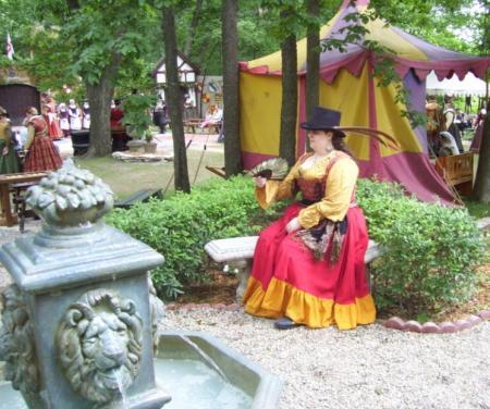Gypsy Queen from Original:  Fantasy worn by Lady Rosebride