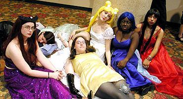 Princess Mercury from Sailor Moon